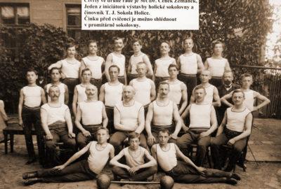 První družstvo mužu T.J. Sokol Holice